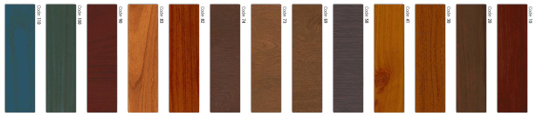 צבעי אלומיניום דמוי עץ