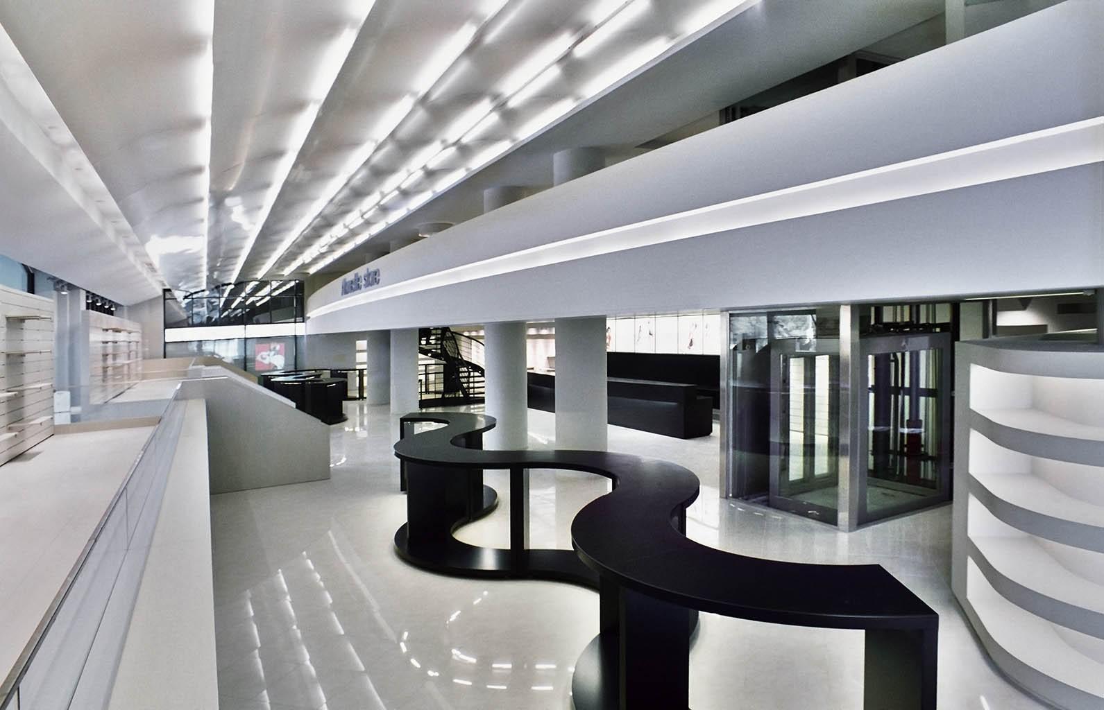 חיפוי מרכז מסחרי באלוקובונד