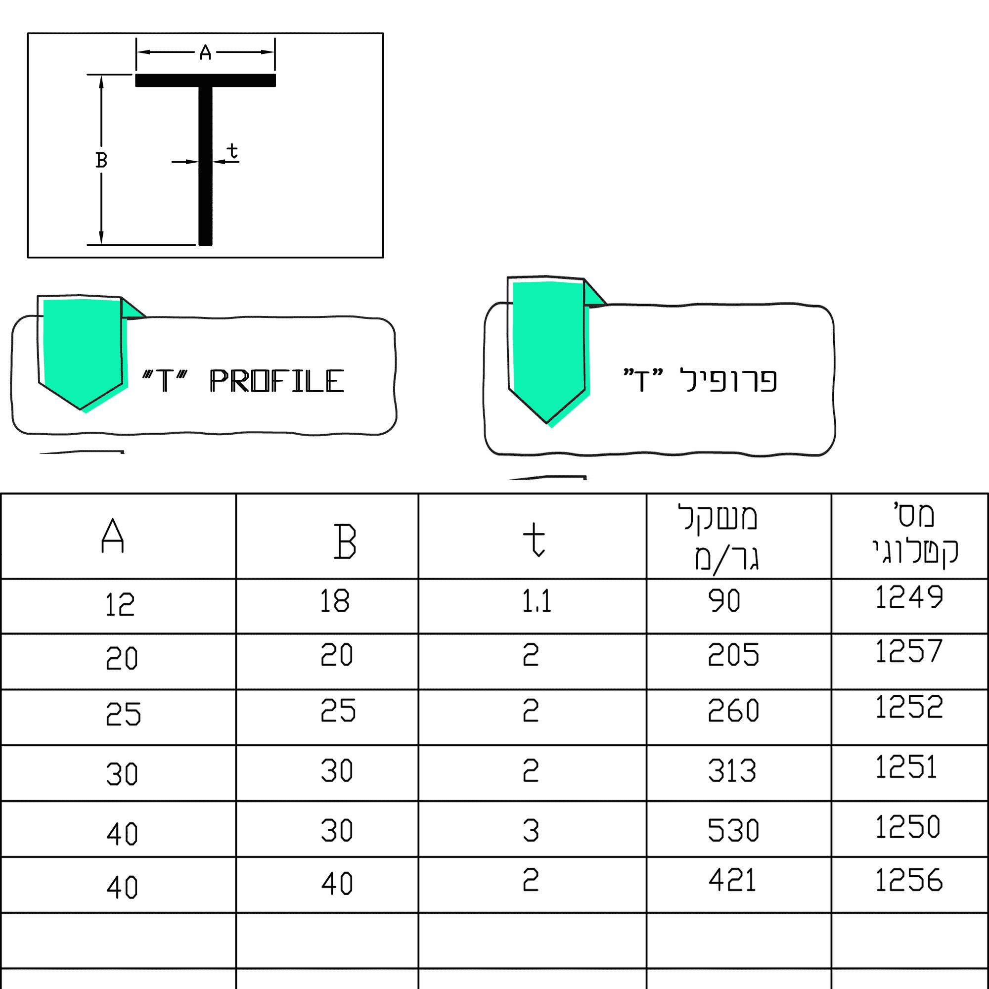 פרופיל-T