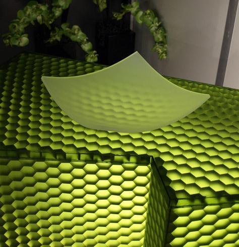 מחיצה ירוקה דקורטיבית