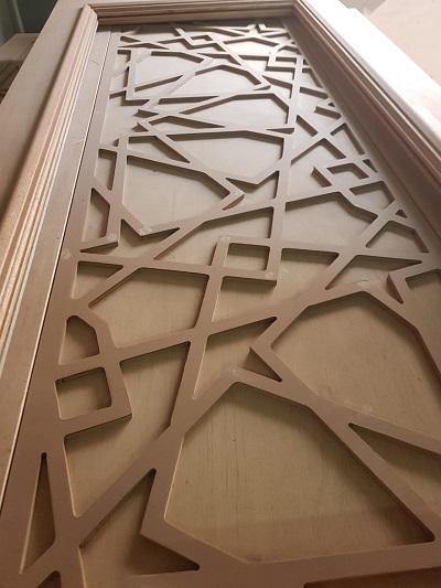 קיר משרביה עץ אורינטלית
