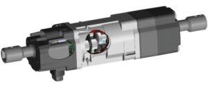 מנוע של תריס חשמלי ונציאני