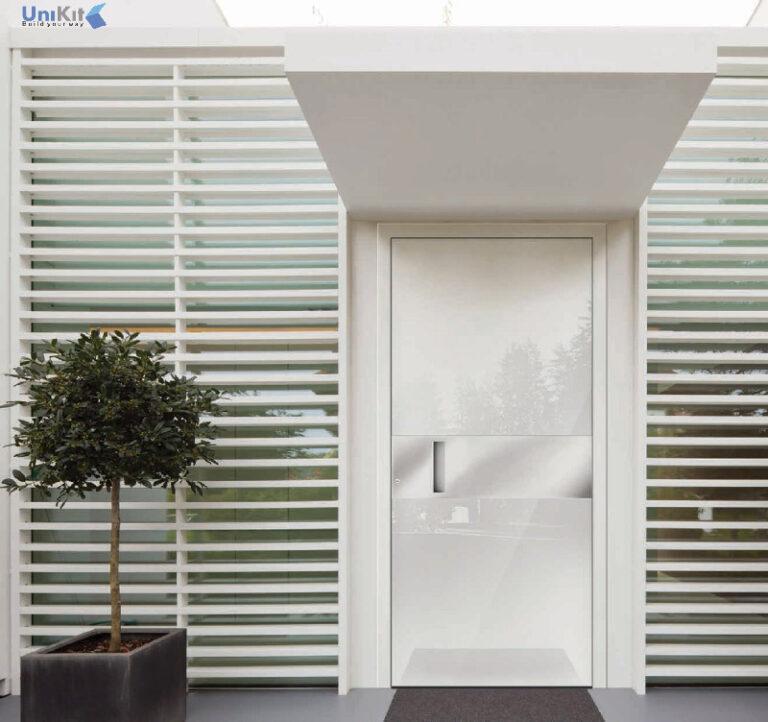 דלתות-כניסה-מעץ ומאלומיניום מחיר
