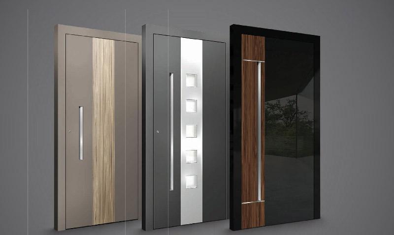 שלוש דלתות כניסה