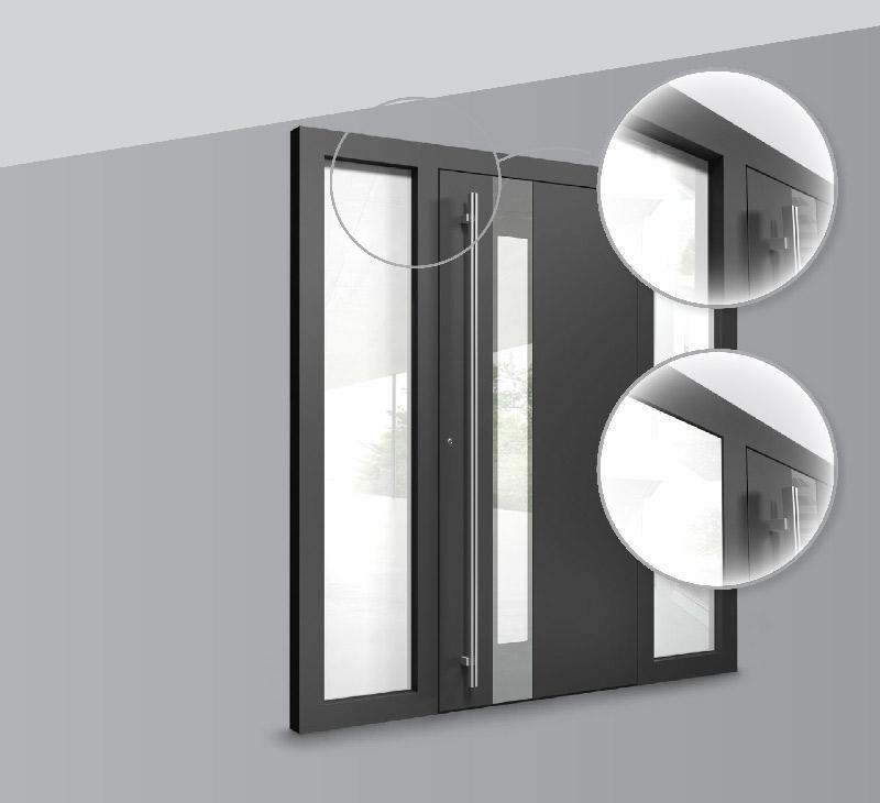 פרט טכני דלתות כניסה