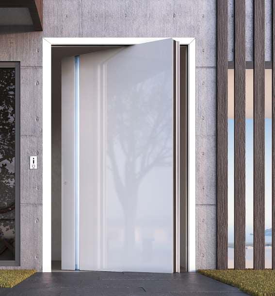 דלתות חוץ אלומיניום