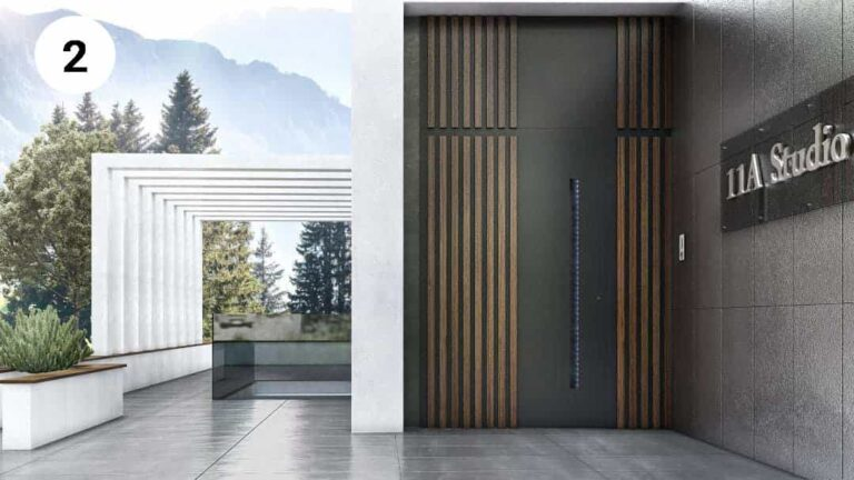 דלתות כניסה מעוצבות פיווט