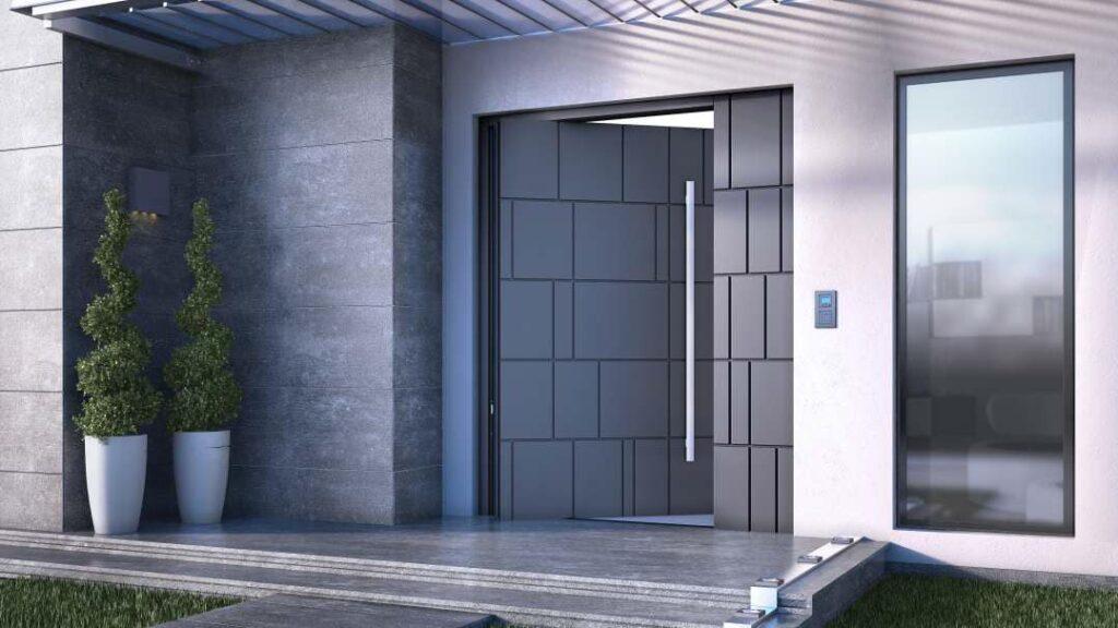 דלת כניסה ביטחון מעוצבת
