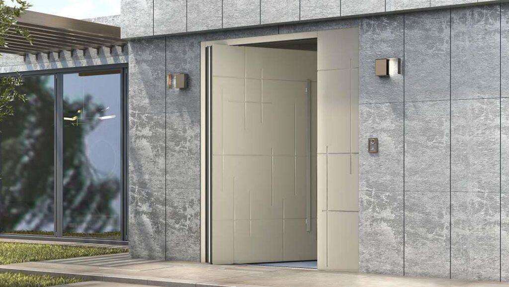 דלת כניסה ציר מסתובב