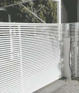 גדר-אלומיניום