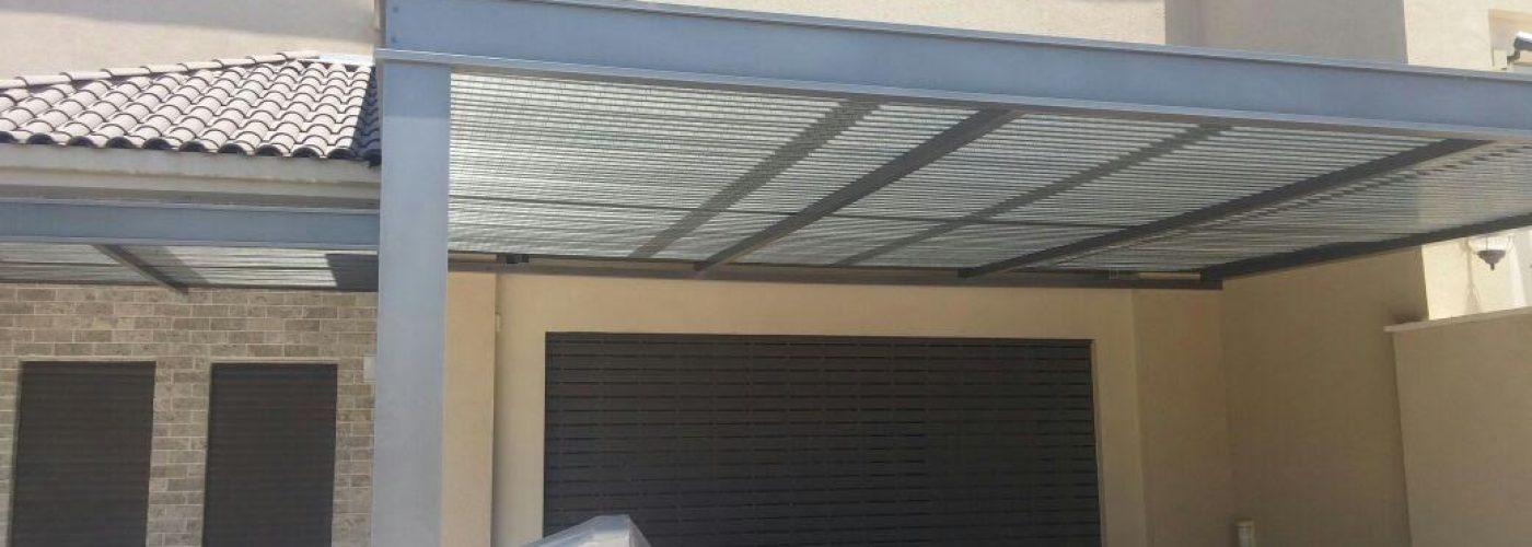פרגולות אלומיניום חשמלית למרפסת